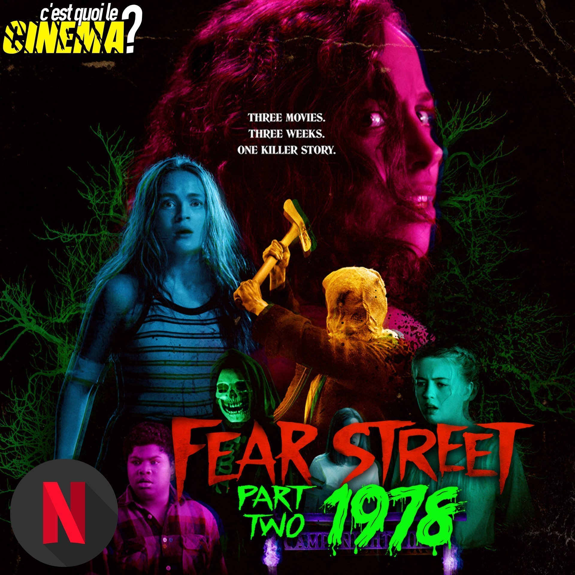[CRITIQUE] Fear Street – Partie 2 : 1978 – Back to 13th Friday 1970